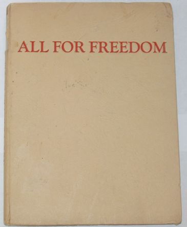 All for Freedom - The Warsaw Epic, edited by Umadevi (Wanda Dynowska)